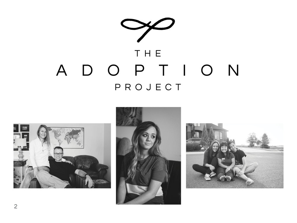 The Adoption Project Photobook